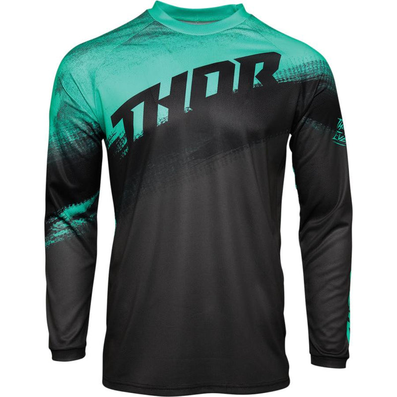 Thor Sector Vapor Mint/Charcoal Jersey - MC AUTO