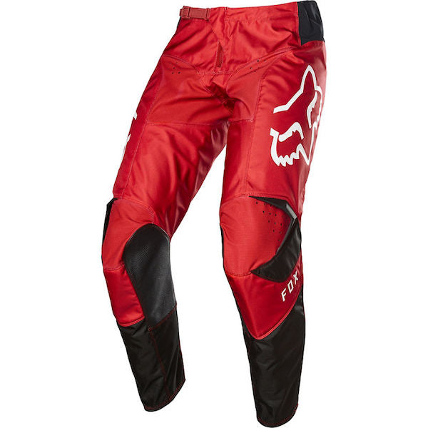 Fox 180 Prix Flame Red/Black Pants - MC AUTO