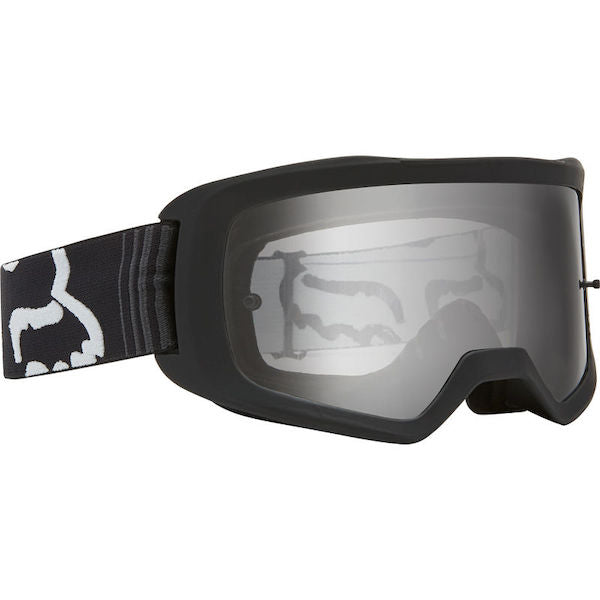 Fox Kids Main Race Black/Clear Goggle