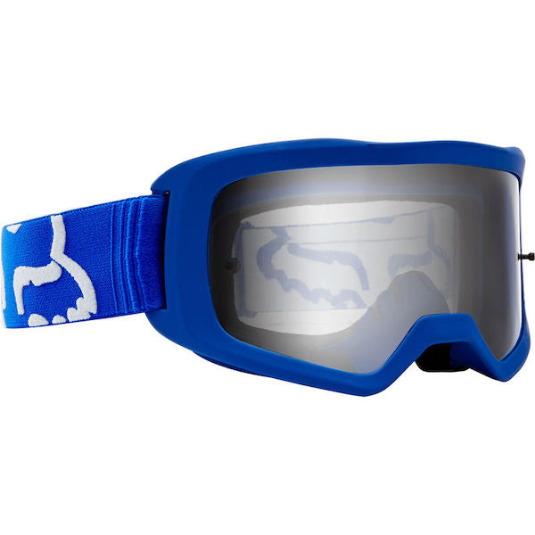 Fox Kids Main Race Blue/Clear Goggle