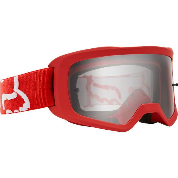 Fox Kids Main Race Red/Clear Goggle