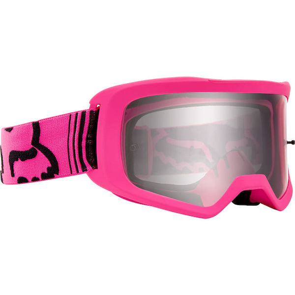 Fox Kids Main Race Pink/Clear Goggle