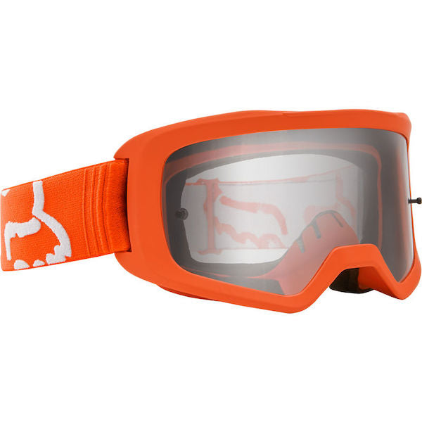 Fox Kids Main Race Flo Orange/Clear Goggle
