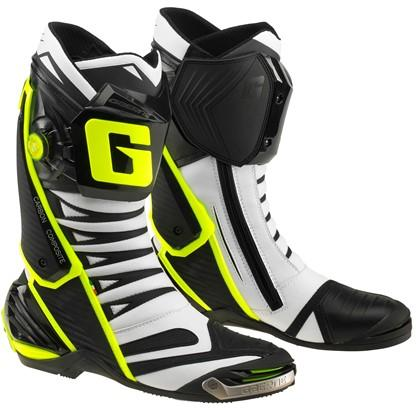 Gaerne GP1 Evo White/Black Road Boots - MC AUTO