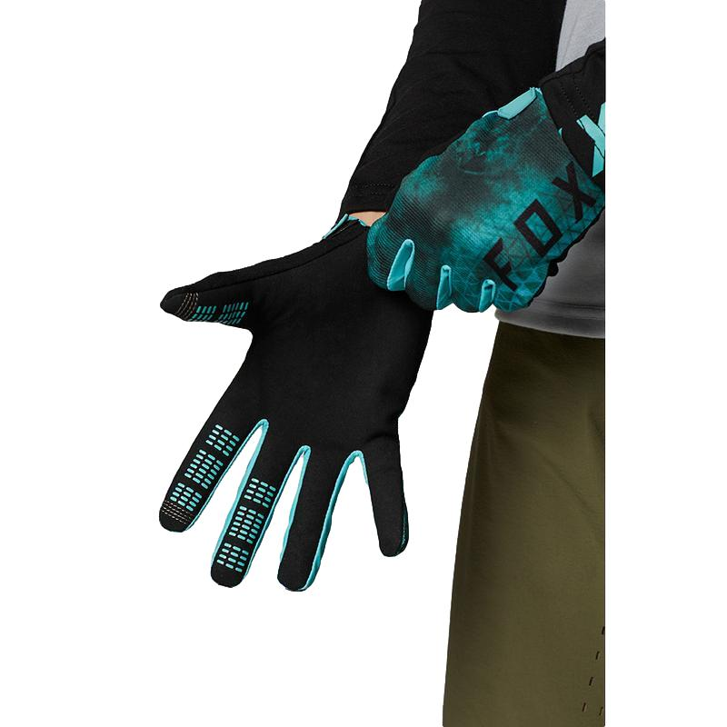 Fox Kids Ranger Teal Gloves - MC AUTO
