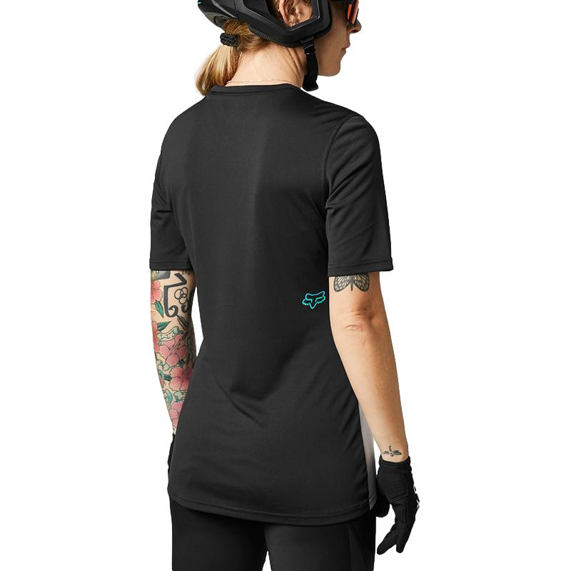 Fox Women's Ranger White/Black Jersey - MC AUTO