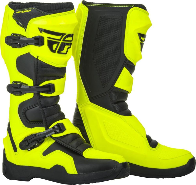 Fly Maverick Hi-Vis/Black Boots - MC AUTO