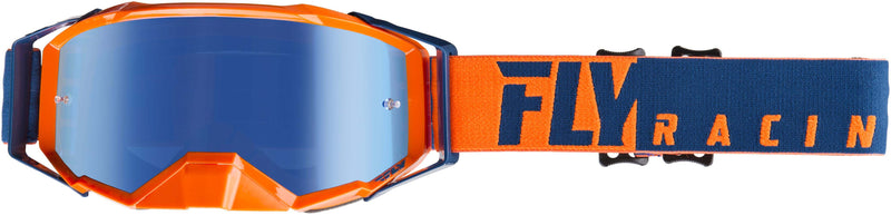 Fly Zone Pro Orange/Blue/Blue Mirror Goggle - MC AUTO