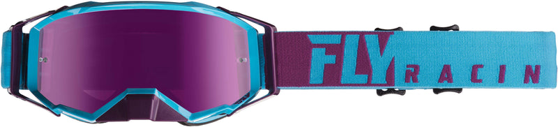 Fly Zone Pro Blue/Port/Pink Mirror Goggle - MC AUTO