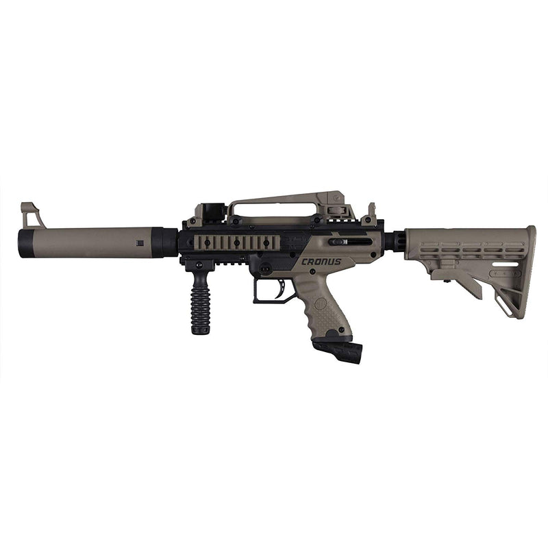 TippMann Cronus Tactical .50 Cal Black/Dark Earth PaintBall Marker - MC AUTO