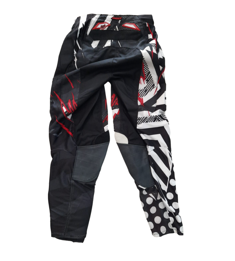 Fox 360 Explosion Black/Red Pants