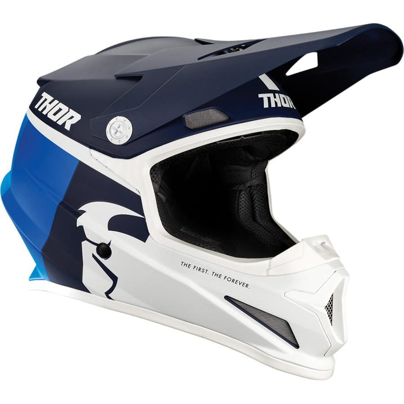 Thor Sector Racer Navy/Blue Helmet - MC AUTO