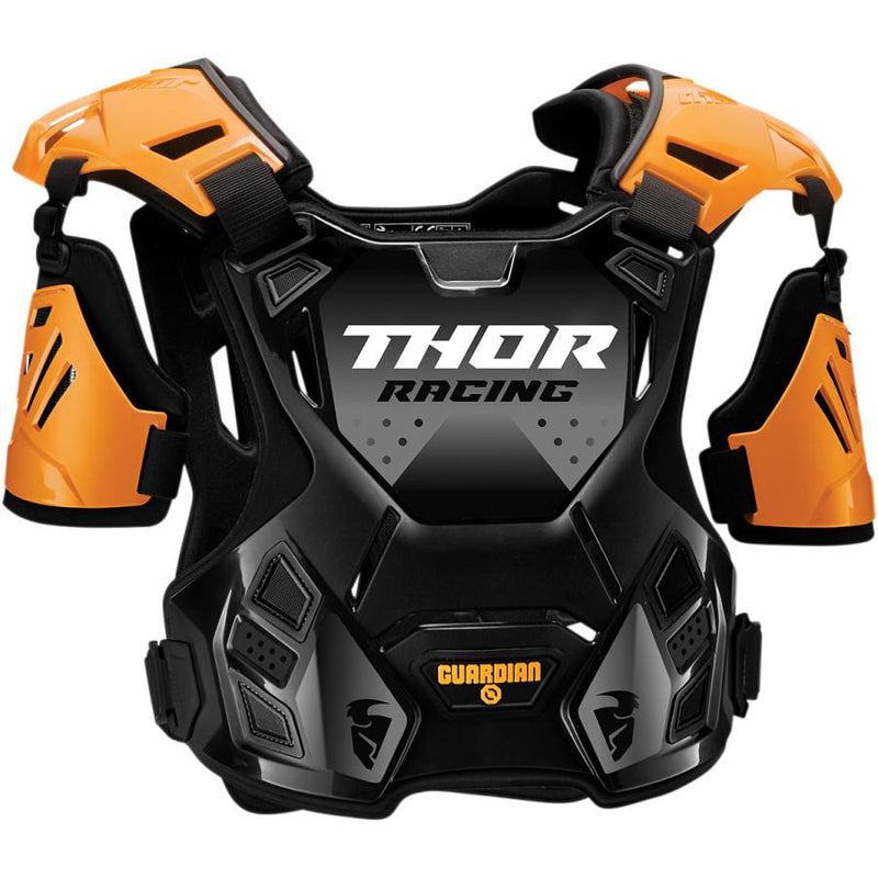 Thor Kids Guardian Orange/Black Guard - MC AUTO