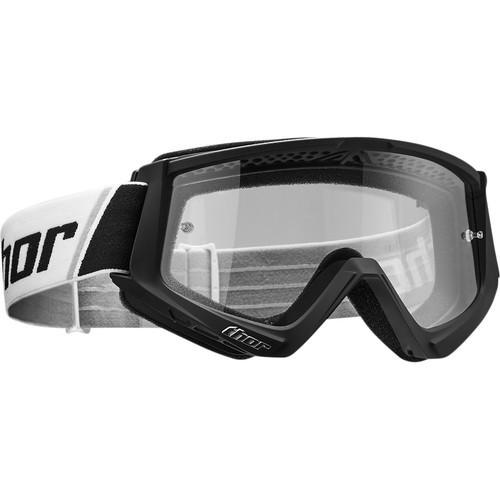 Thor Kids Combat Black/White Goggle