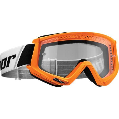 Thor Kids Combat Flo Orange/Black Goggle - MC AUTO