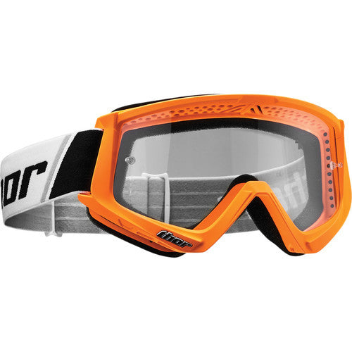 Thor Combat Flo Orange/Black Goggle - MC AUTO