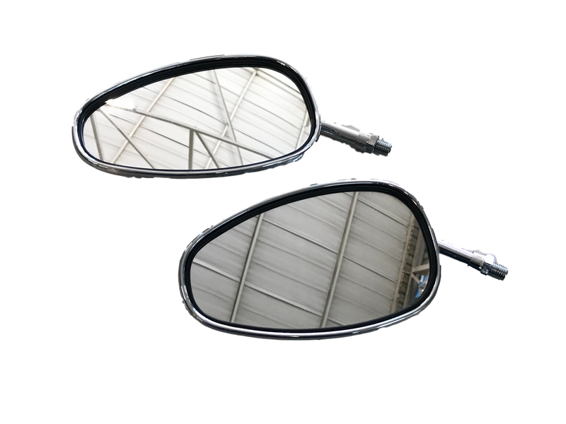 Rotracc Chrome Mirrors - MC AUTO