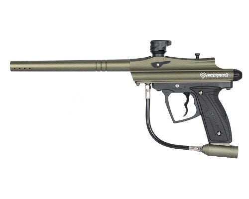 D3FY Sports Conquest Olive Drab PaintBall Marker