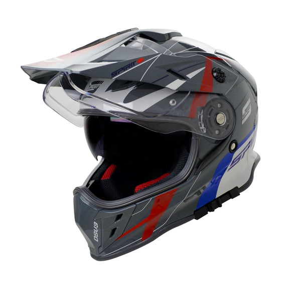 Spirit DSV3 Red/Blue/White Helmet
