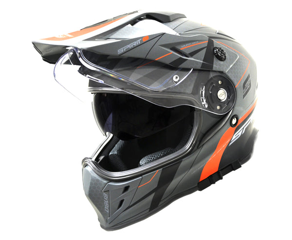 Spirit DSV3 Orange/Black Helmet