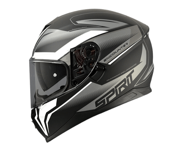 Spirit Encounter Silver Helmet - MC AUTO