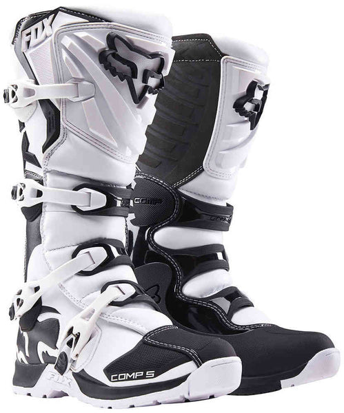 Fox Comp 5 White Boots