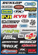 FX Sponser Kit A Sticker Sheet - MC AUTO