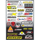 FX Sponser Kit D Sticker Sheet - MC AUTO