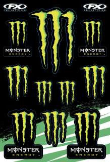 FX Monster Sticker Sheet - MC AUTO