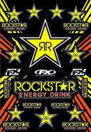 FX Rockstar Sticker Sheet - MC AUTO