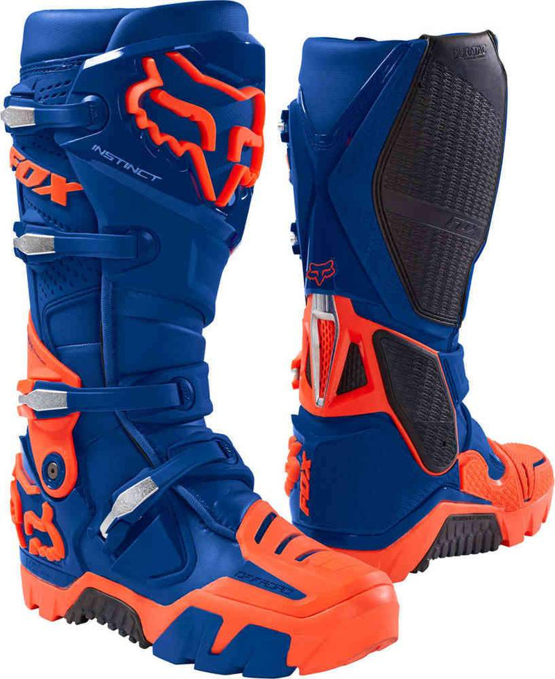 Fox Instinct OffRoad Blue Boots - MC AUTO