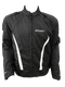 Stealth Evo Black/White Jacket - MC AUTO