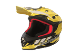 Faseed 608 Kids Yellow/Black/White Helmet