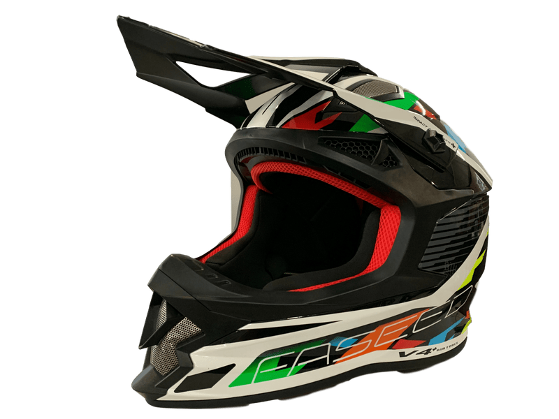 Faseed 609 Multi Colour Helmet - MC AUTO