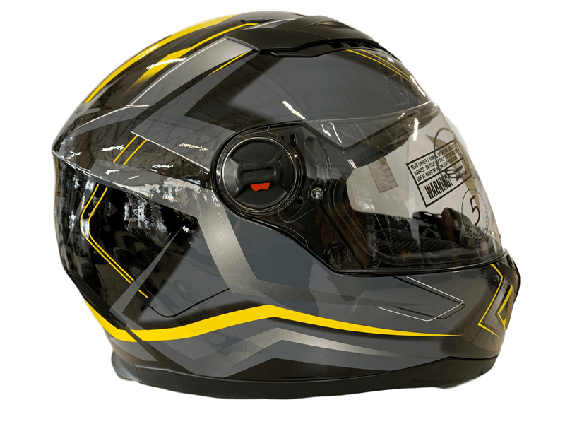 Vega AT2 Yellow Graphic Helmet - MC AUTO