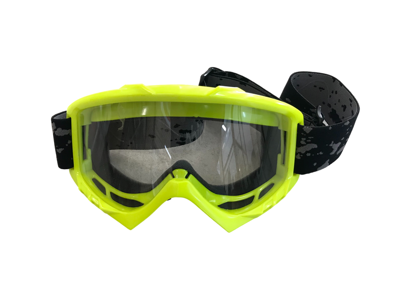 Pro MX Yellow Goggle - MC AUTO