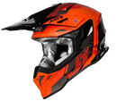 Just 1 J39 Pro Reactor Fluo Orange/Black/Gloss Helmet - MC AUTO
