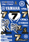 FX Yamaha Stewart Sticker Sheet - MC AUTO