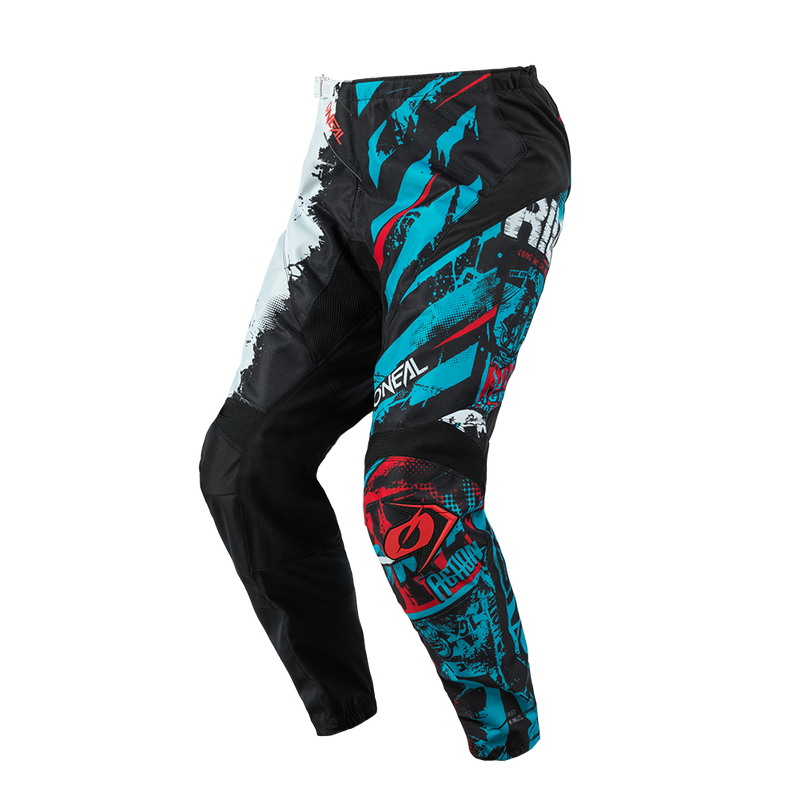 O'Neal Kids Element Ride Black/Blue Pants