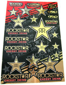 FX Rockstar Gold Chrome Sticker Sheet - MC AUTO