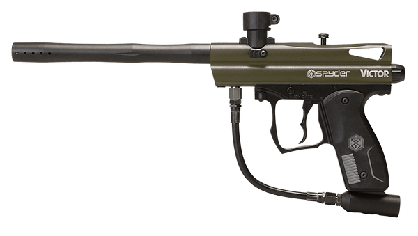 Spyder Victor Olive Green PaintBall Marker