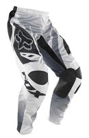 Fox 180 Race Airline White Pants - MC AUTO