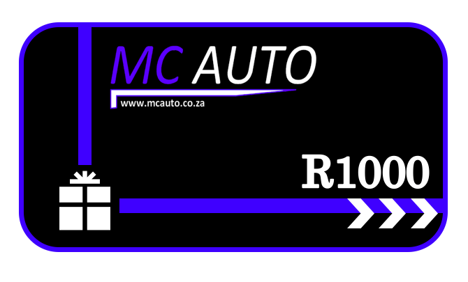 MCA Gift Voucher - R1000 - MC AUTO