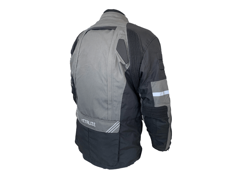 Metalize 440 Black/Dark Grey Jacket - MC AUTO