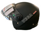Vega HD-306 Matt Black Helmet