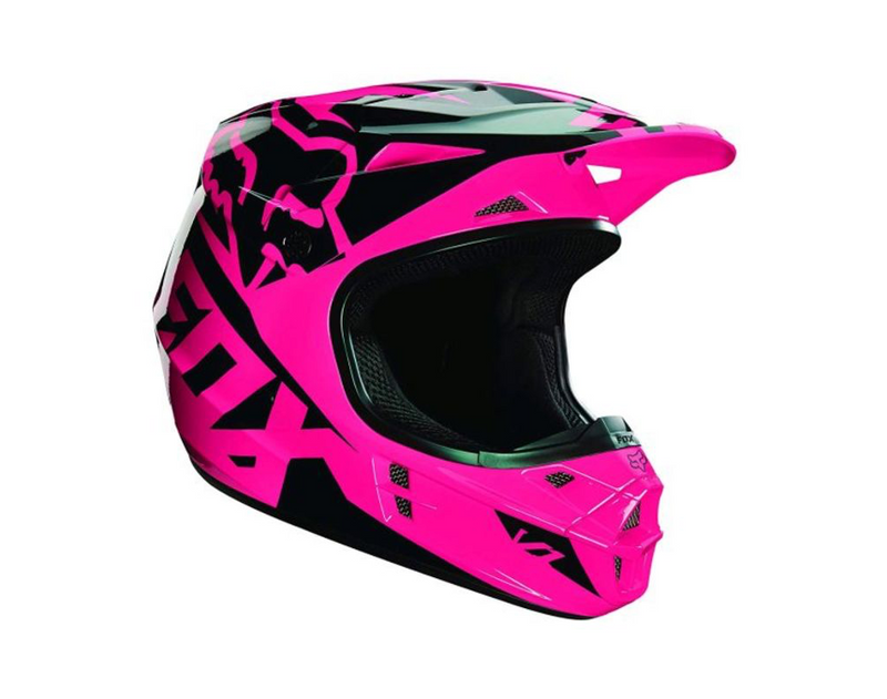 Fox V1 Race Pink Helmet