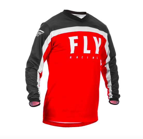 Fly F-16 Red/Black/White Jersey