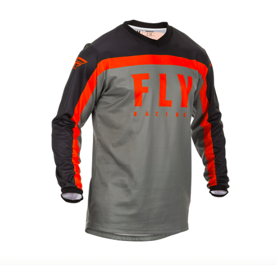 Fly F-16 Grey/Black/Orange Jersey