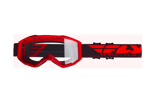 Fly Kids Focus Red/Clear Goggle