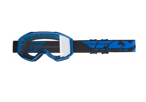 Fly Kids Focus Blue/Clear Goggle